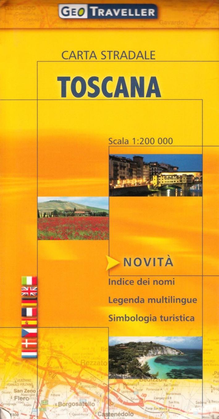 Toscana. Carta Stradale 1:200.000