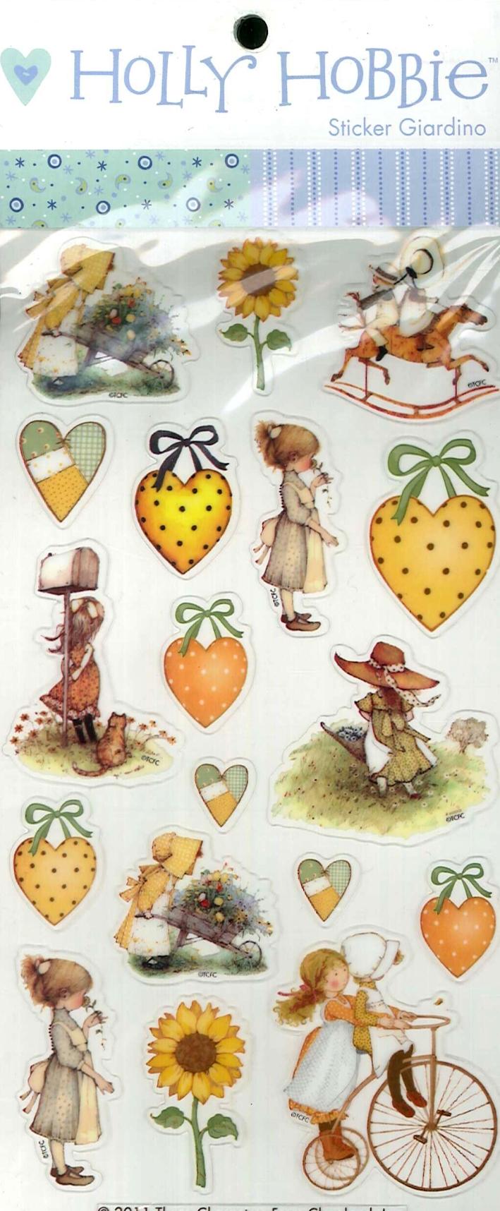 Holly Hobbie. Giardino. Sticker