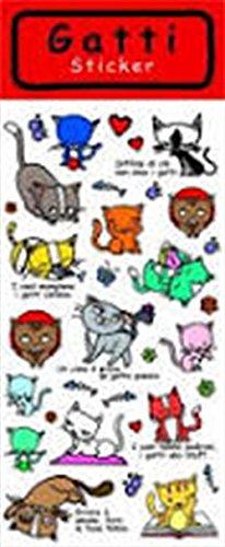 Gatti. Sticker