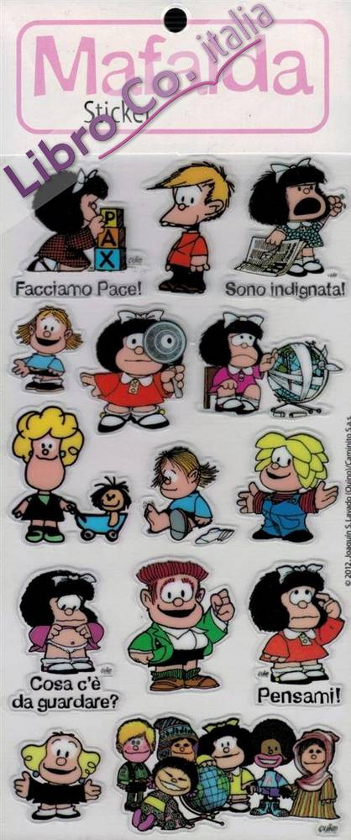 Mafalda Sticker 2. Singolo