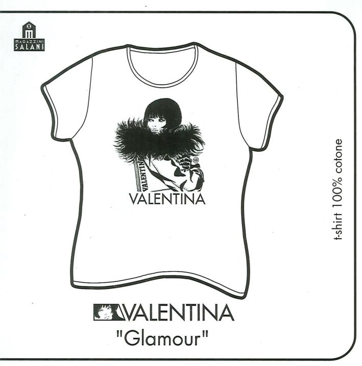 Valentina Glamour (T-Shirt, Taglia S, Colore Bianco)