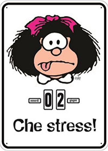Mafalda. Che Stress. Calendario Perpertuo