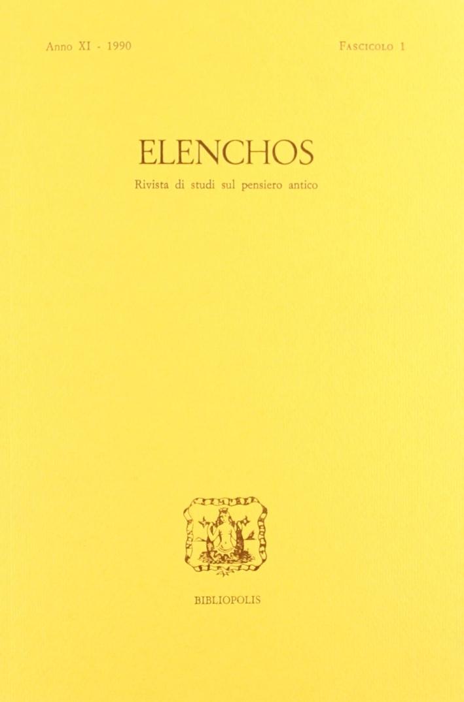 Elenchos N. 1/90
