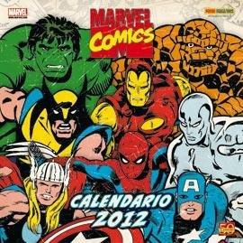 Calendario Marvel Comics 2012.