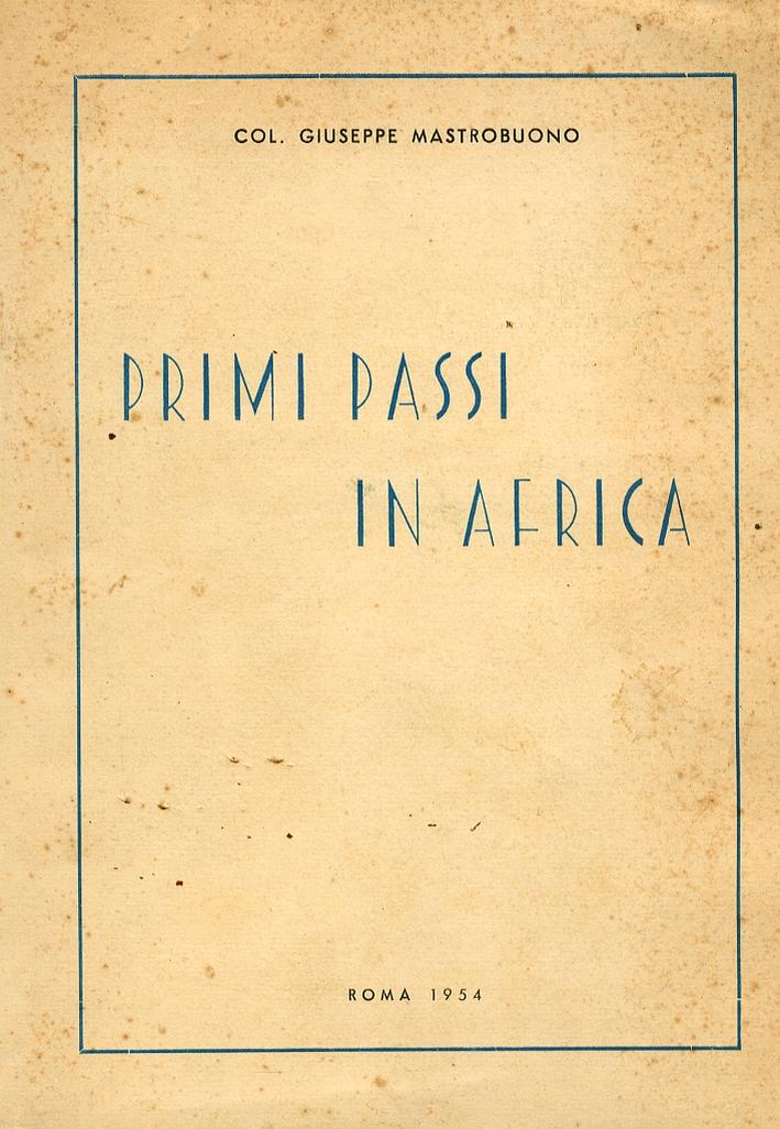 Primi Passi in Africa.