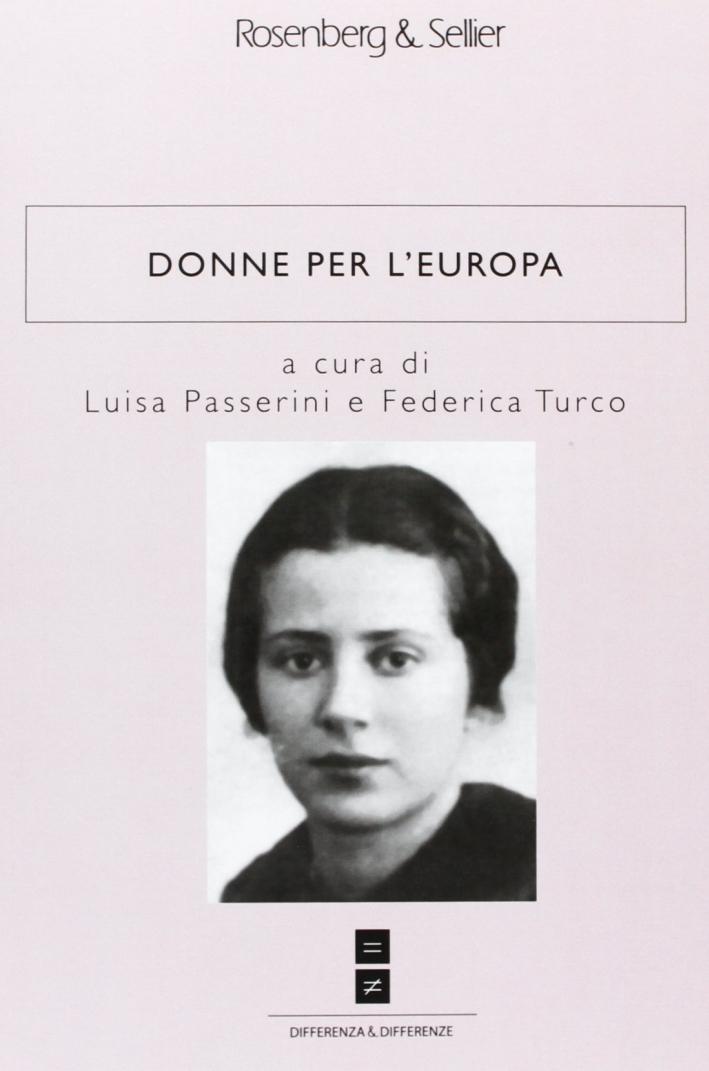 Donne Per L'Europa.