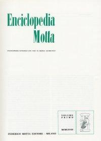 Enciclopedia Motta.