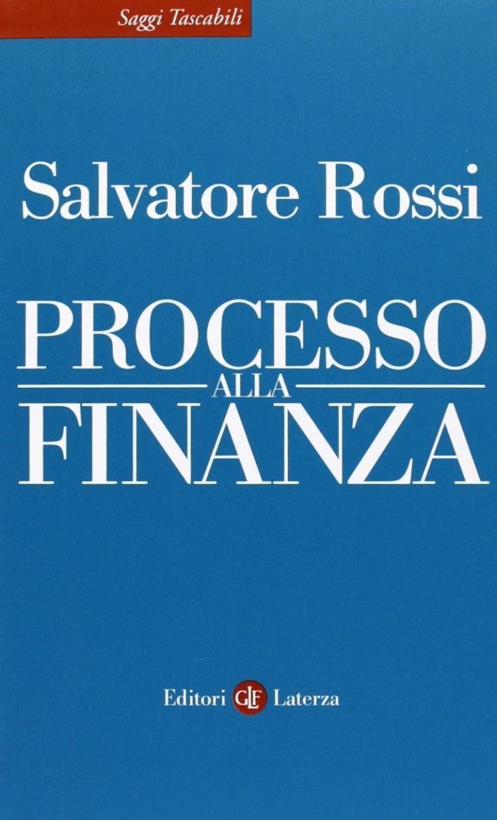Processo alla finanza