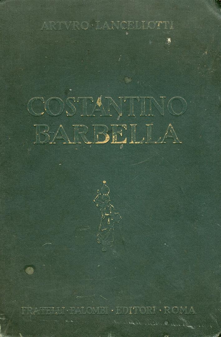 Costantino Barbella. 1852-1925
