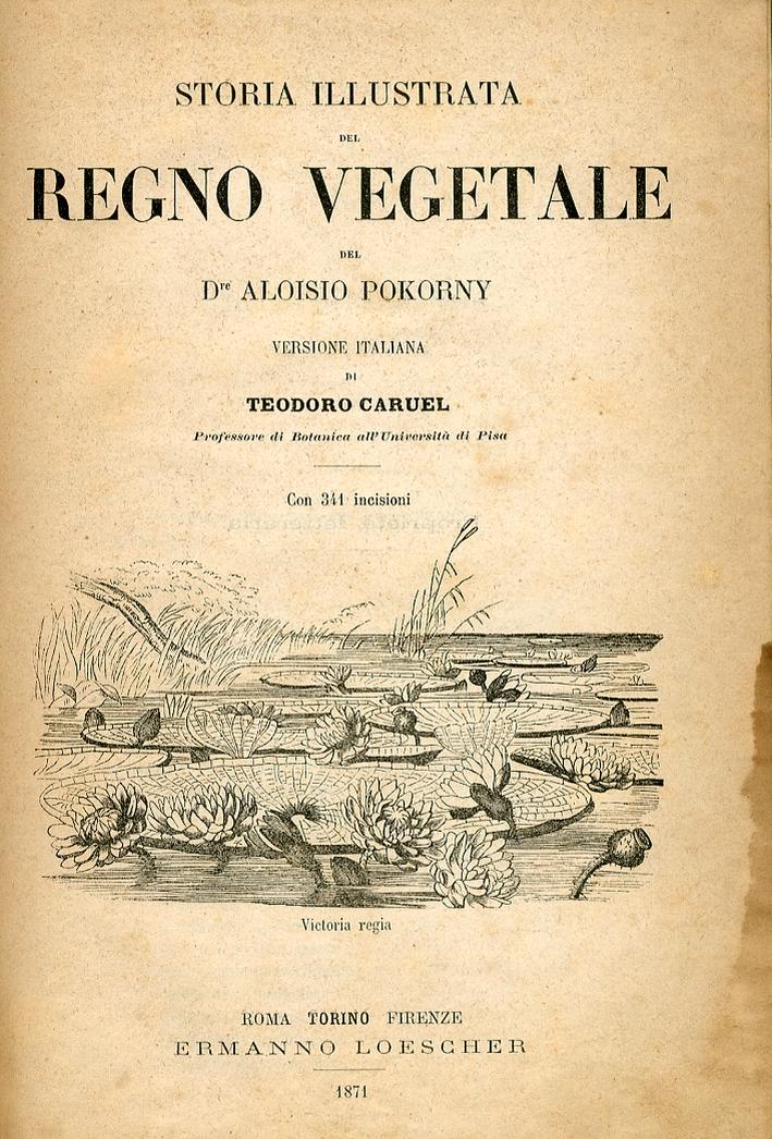 Storia Illustrata del Regno Vegetale