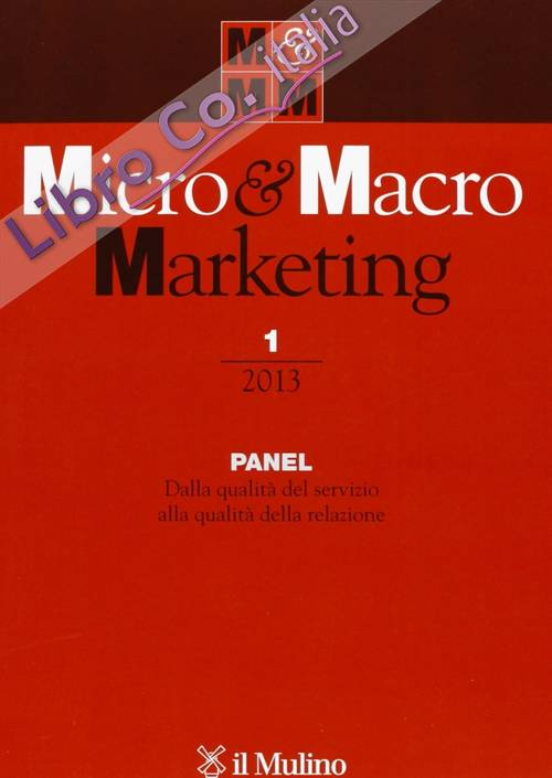 Micro & Macro Marketing (2013). Vol. 1