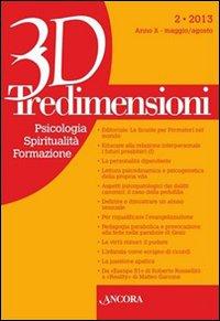 Tredimensioni. Psicologia, spiritualità, formazione (2013). Vol. 2