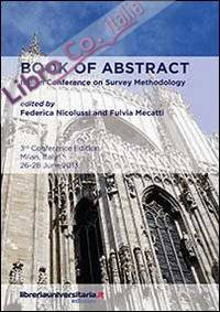 Book of abstract. Italian conference on survey methodology.