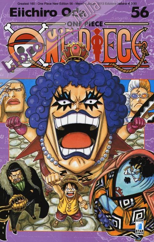 One piece. New edition. Vol. 56