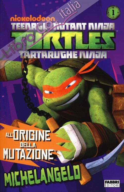 Michelangelo. Turtles Tartarughe Ninja