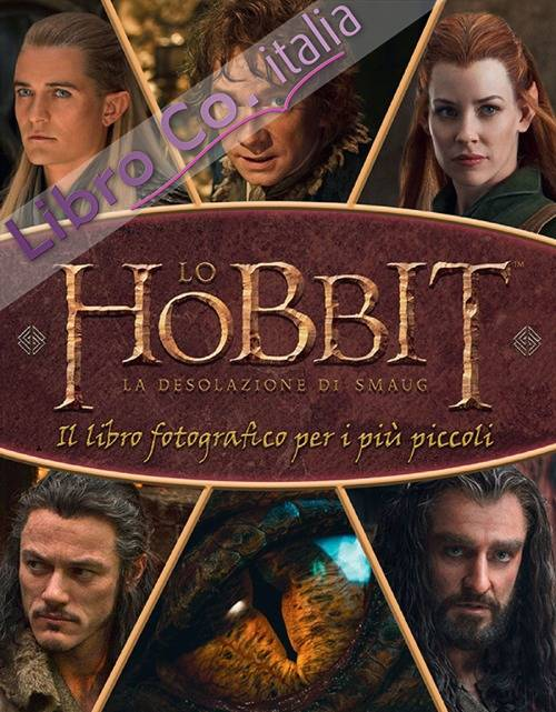 Lo Hobbit. La desolazione di Smaug. Il libro fotografico per i più piccoli. Ediz. illustrata