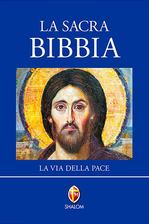 La Sacra Bibbia. Via delle Pace. Ediz. Azzurra
