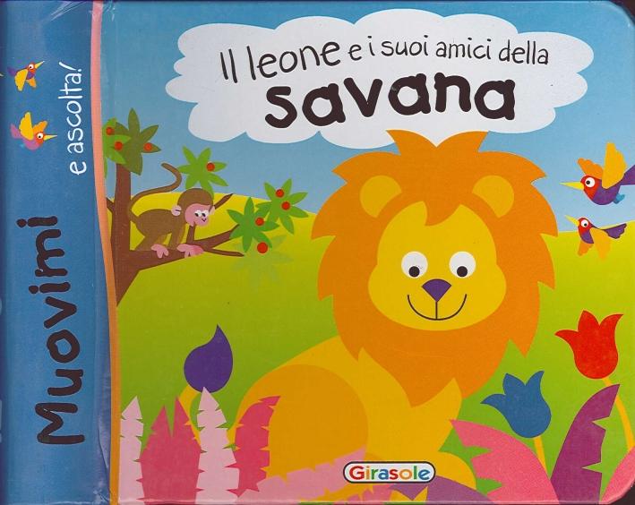 Il Leone e i Suoi Amici delle Savana