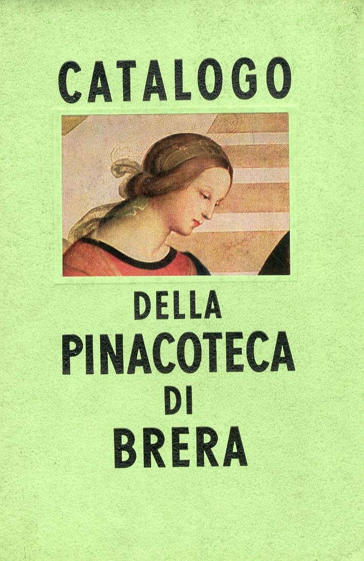 Catalogo delle Pinacoteca di Brera in Milano