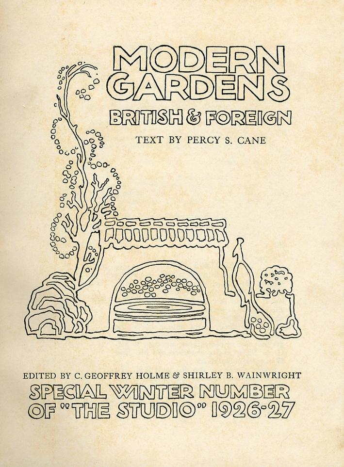 Modern Gardens. British & Foreign