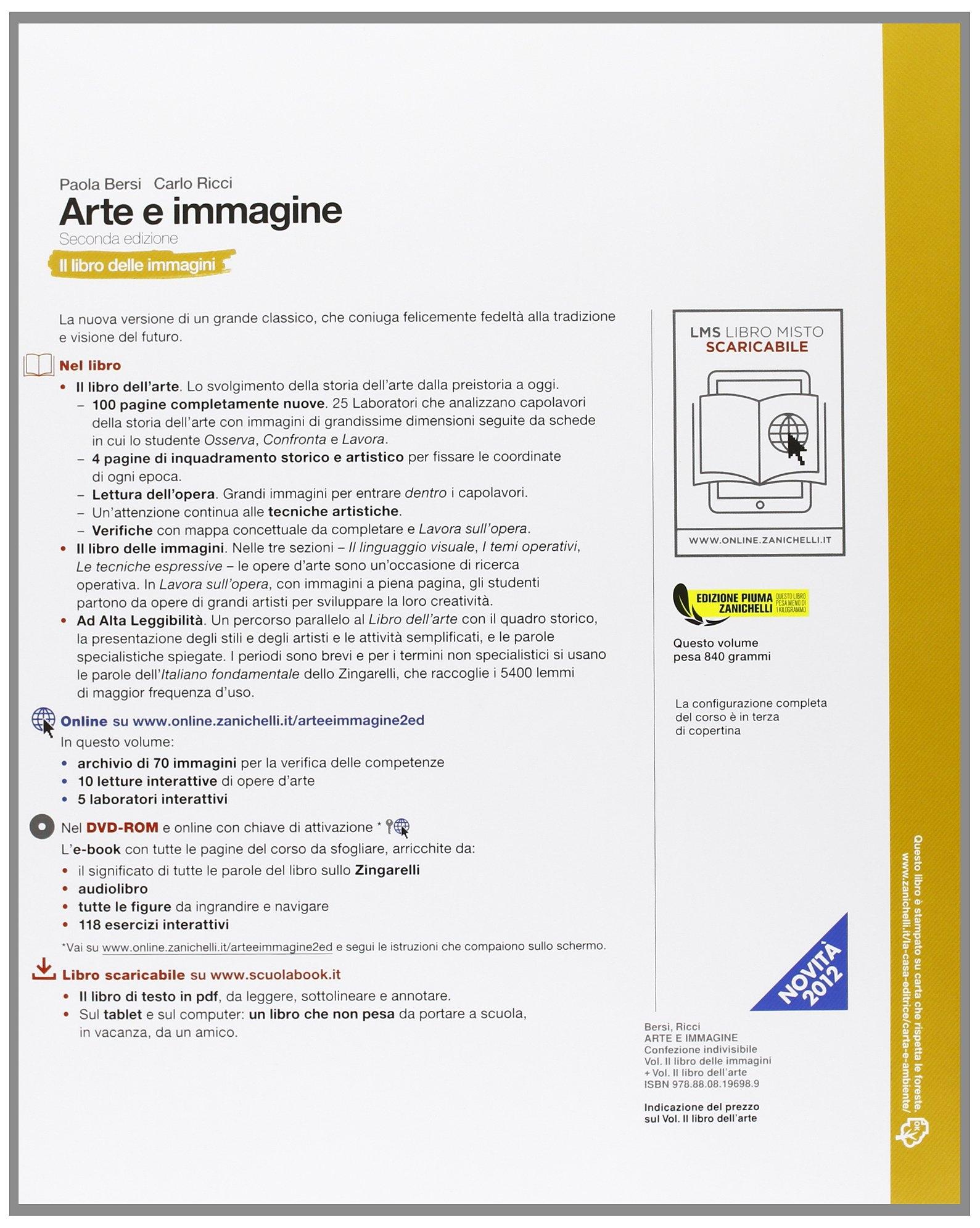 Arte e Immagine. Il Libro delle Immaginiil Libro dell'Arte. con Espansione Online. per la Scuola Media