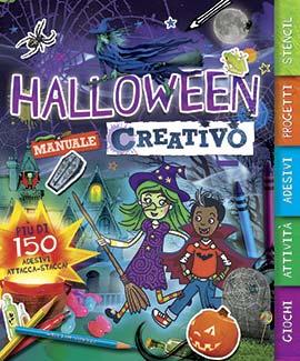 Halloween. Manuale creativo. Con adesivi. Ediz. illustrata