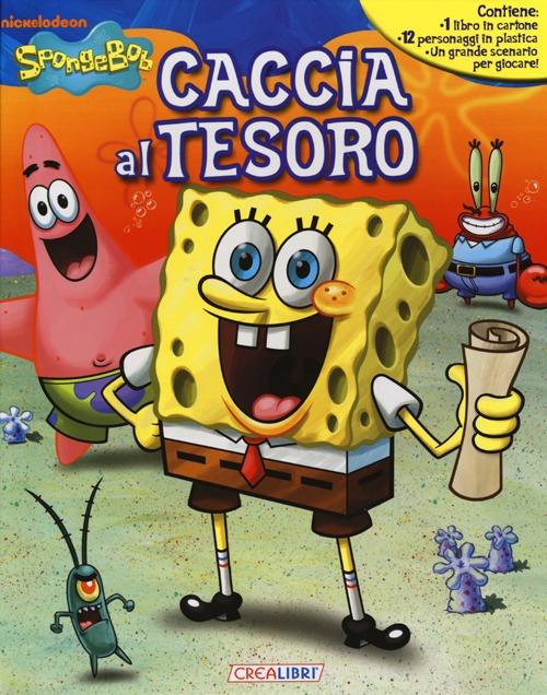 Caccia al tesoro. SpongeBob. Ediz. illustrata. Con gadget