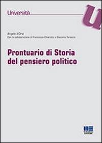 Prontuario di storia del pensiero politico
