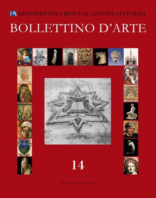 Bollettino d'arte (2012). Vol. 14