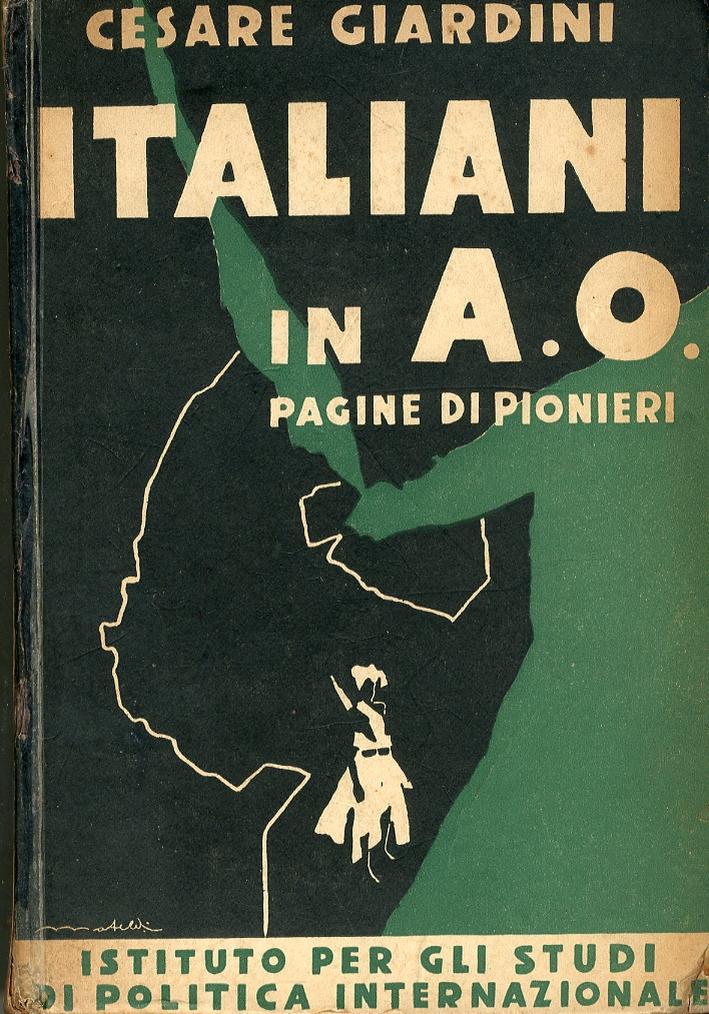 Italiani in A.o. Pagine di Pionieri