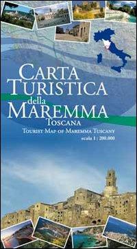 Carta turistica della Maremma Toscana 1:200.000