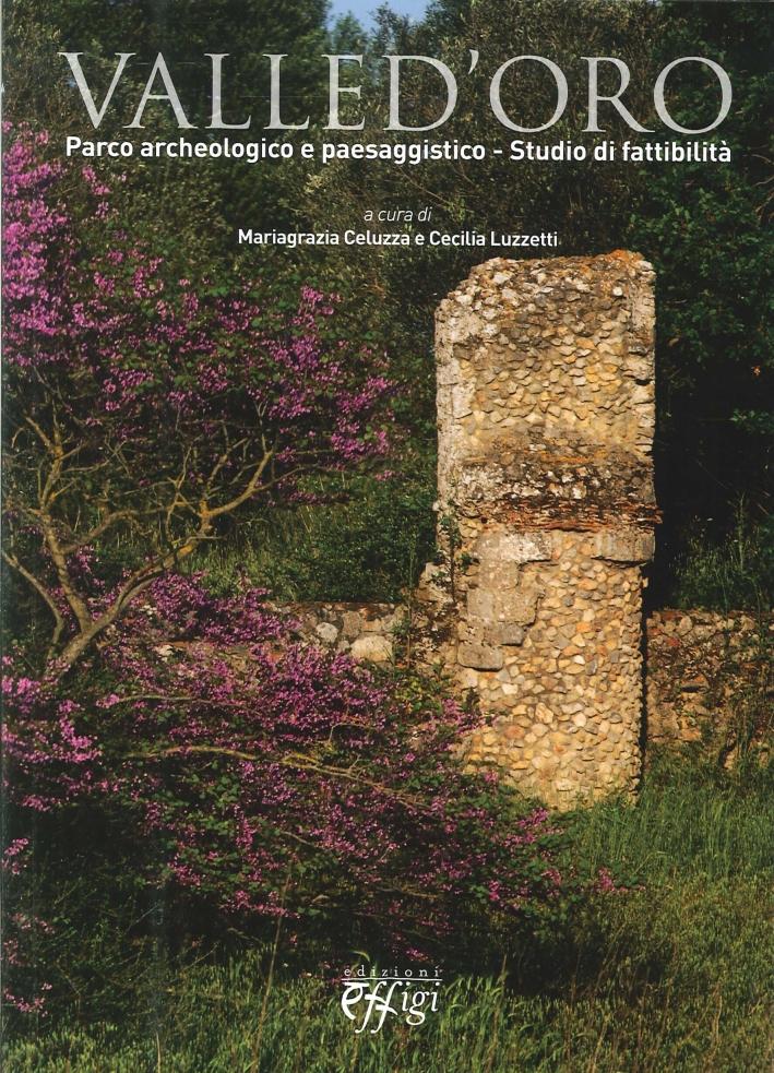 Valle D'Oro. Parco Archeologico E Paesaggistico. Studio Di Fattibilità