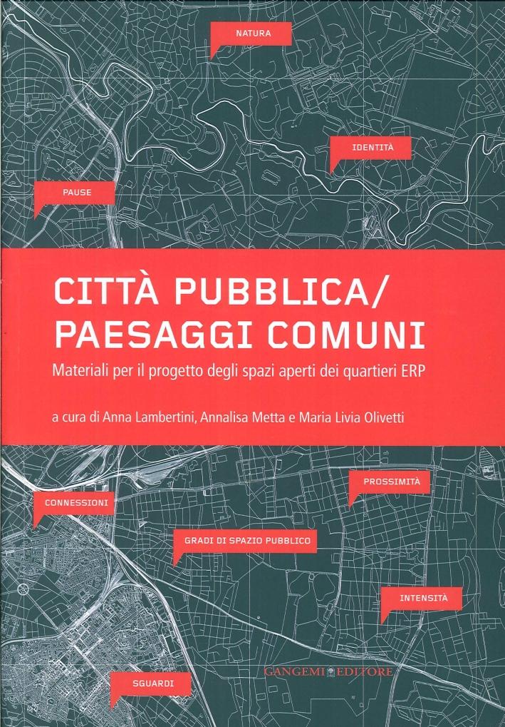 Città Pubblica. Paesaggi Comuni. Materiali per il Progetto degli Spazi Aperti dei Quartieri Erp