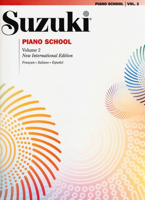 Suzuki piano school. Ediz. italiana, francese e spagnola. Vol. 2