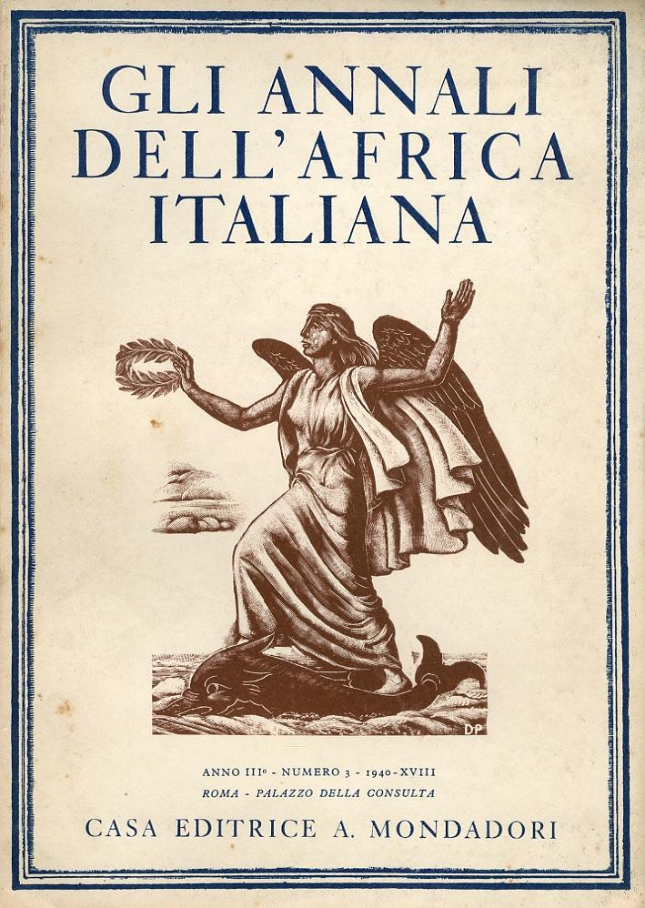 Gli Annali dell'Africa Italiana. Anno III. Volume III