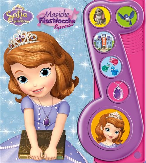 Sofia la Principessa. Con Gadget.