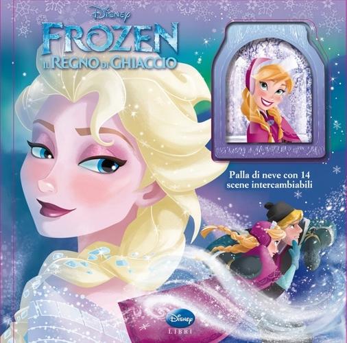 Palla di Neve. Frozen. il Regno di Ghiaccio