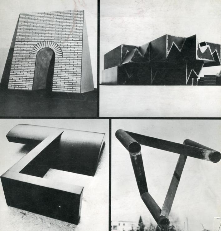 Progetto, Intervento e Verifica. Scultura di Carrino, Pardi, Spagnuolo, Uncini