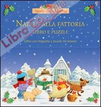 Natale alla fattoria. Libro puzzle.
