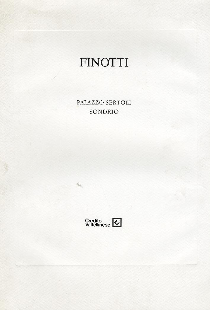 Finotti. Palazzo Sertoli Sondrio.