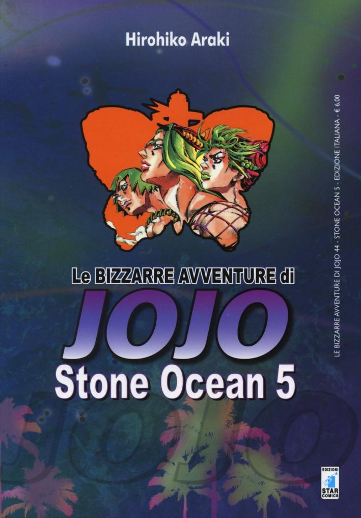 Stone Ocean. Le bizzarre avventure di Jojo. Vol. 5.