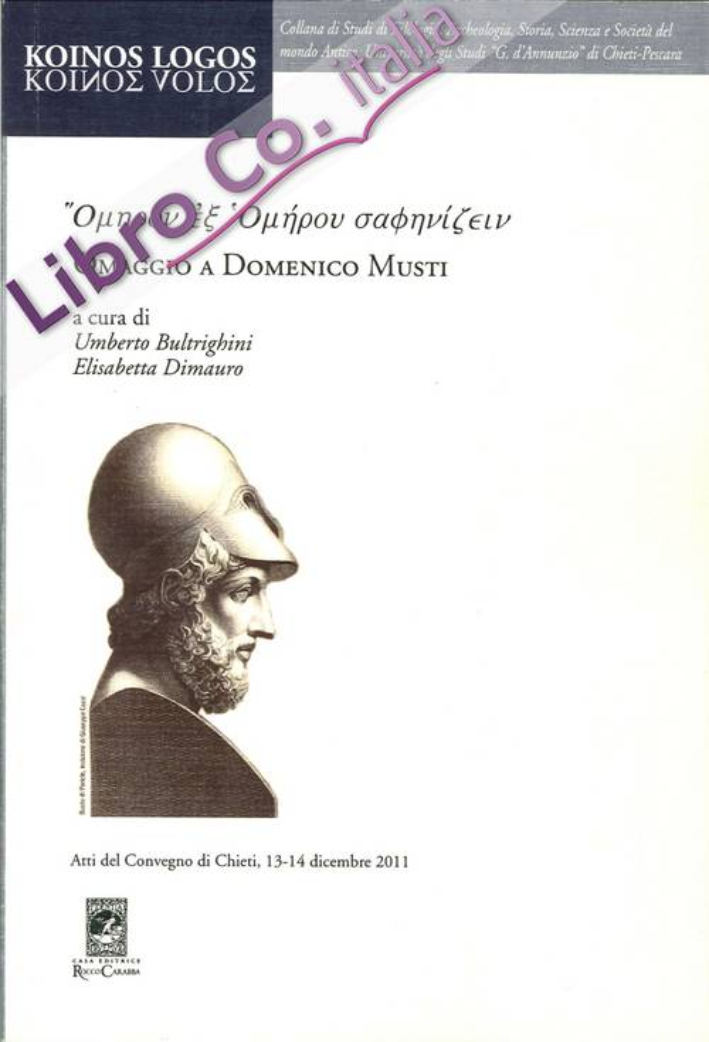 Omaggio a Domenico Musti
