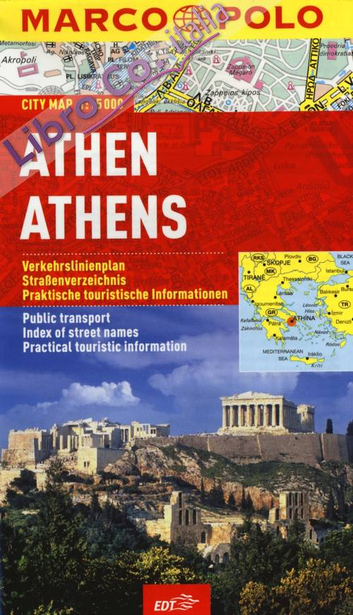 Atene 1:15.000.