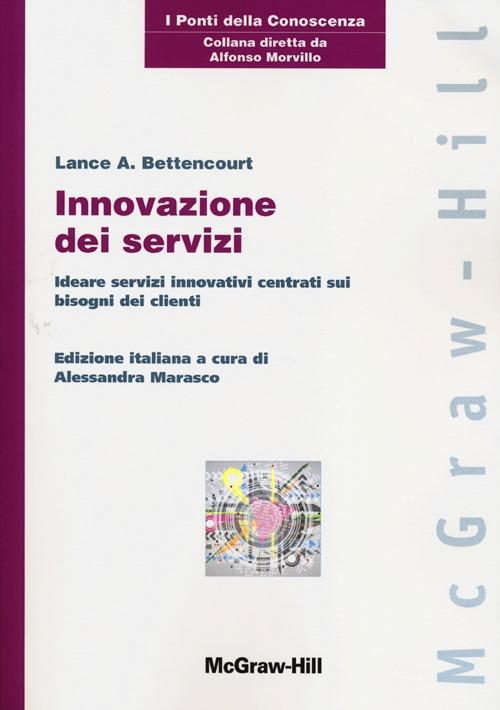 Innovazione dei servizi. Ideare servizi innovativi centrati sui bisogni dei clienti.