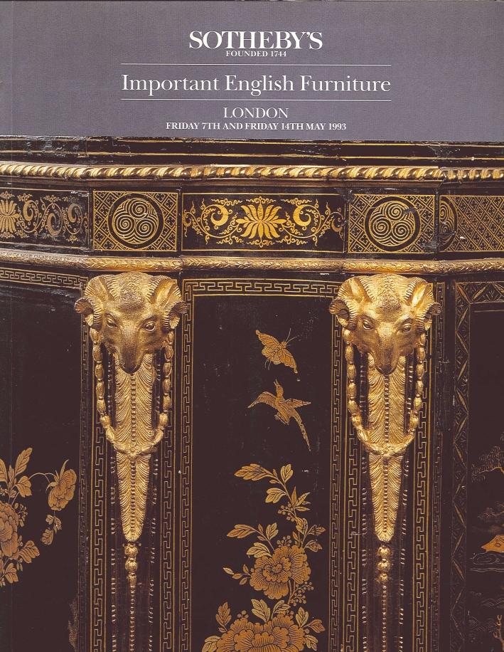 Important English Furniture