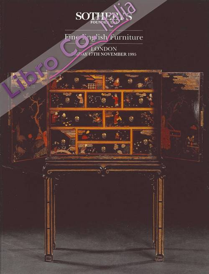 Fine English Furniture. London Friday 17th November 1995