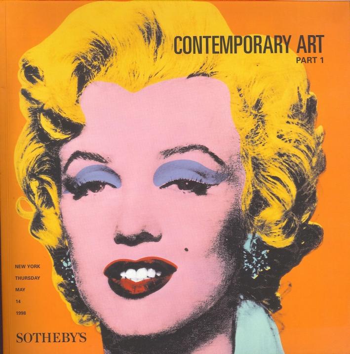 Contemporary Art. Part 1. New York, Thursday, May 14 1998