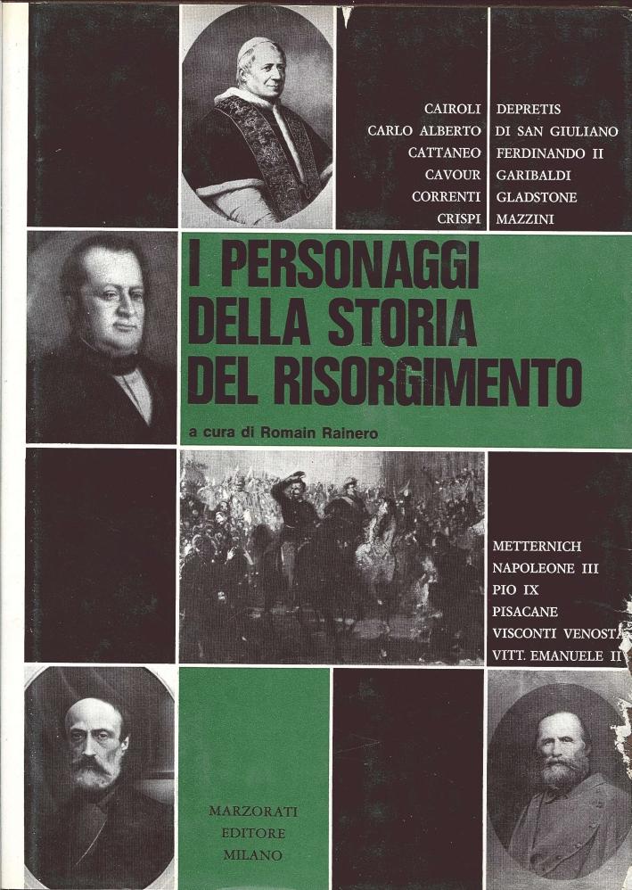I Personaggi delle Storia del Risorgimento