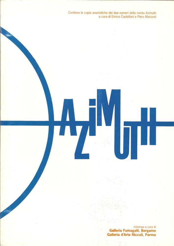 Azimut. La Nuova Concezione Artistica. Copie Anastatiche dei Due Numeri delle Rivista. (Ristampa)