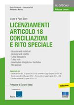 Licenziamenti Articolo 18. Conciliazioni e Rito Speciale